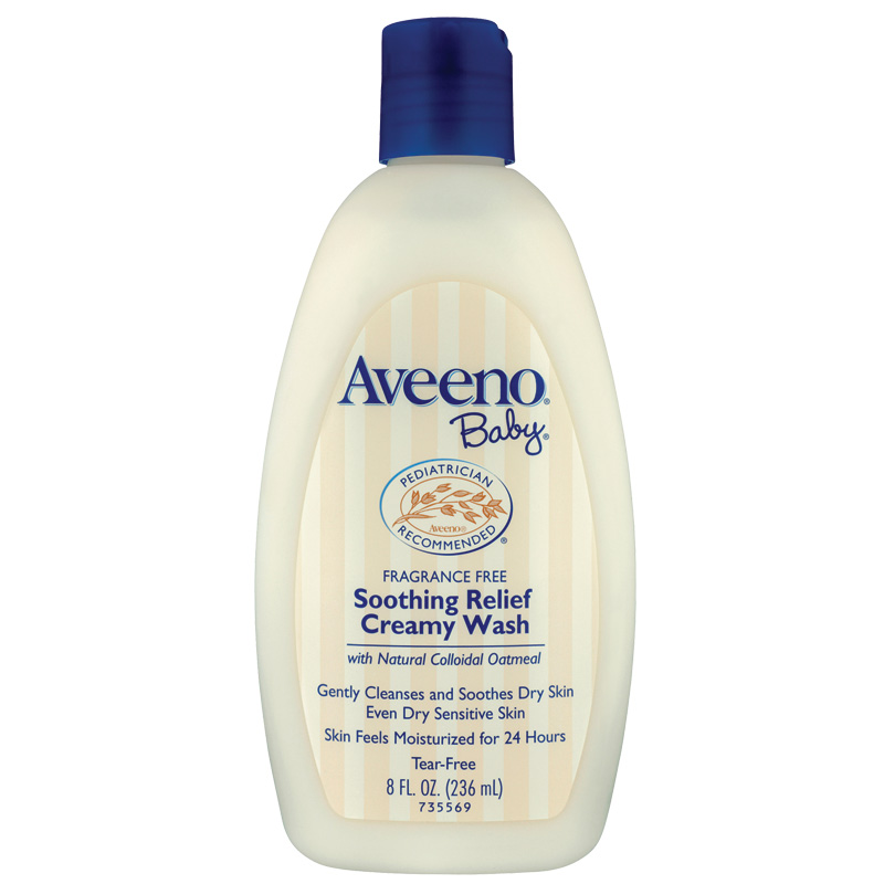 Aveeno Baby Soothing Relief Wash 236ml Tear Free Wash