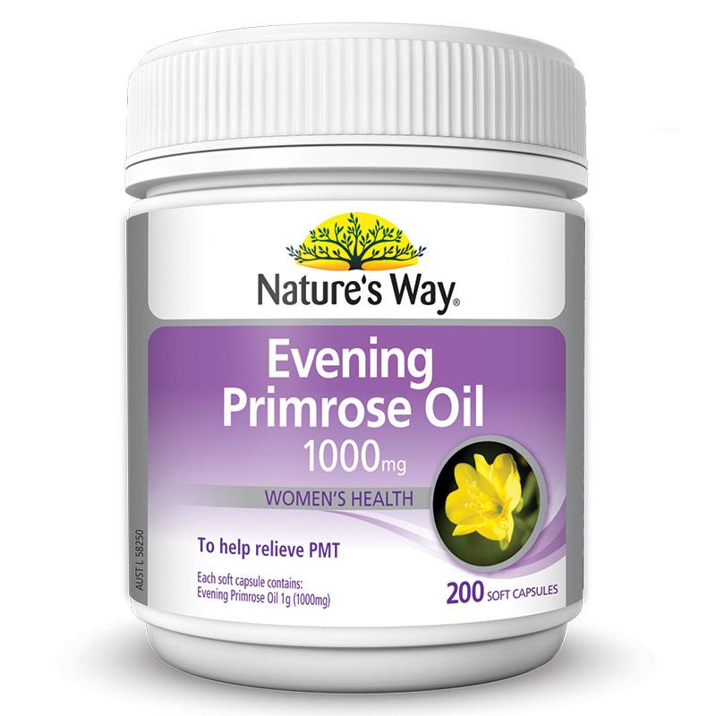 Nature S Way Evening Primrose Oil  Mg