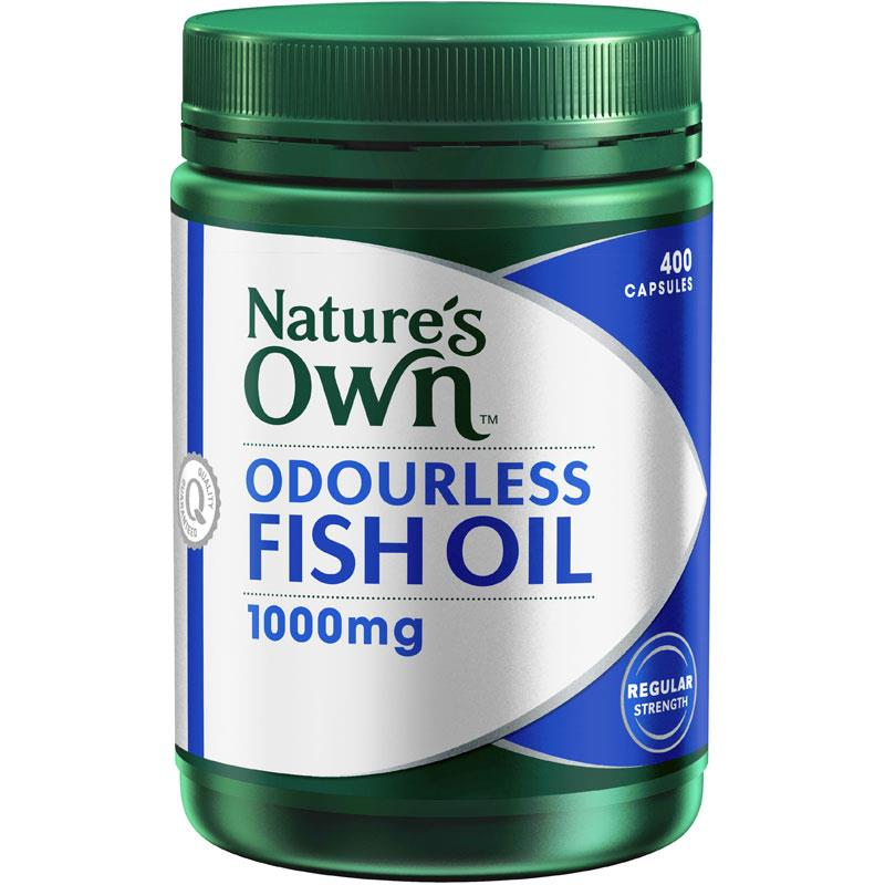 Nature S Own Odourless Fish Oil Mg