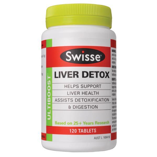 Liver detox swisse