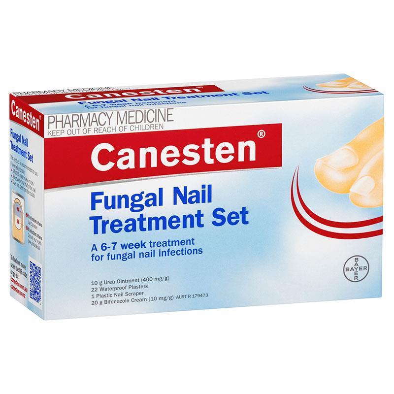 Details About Canesten Fungal Nail Treatment Set Nail Infection Urea Ointment Bifonazole Cream
