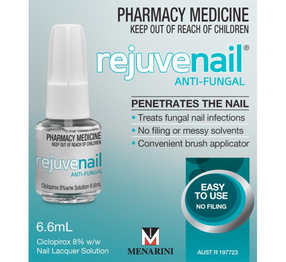 Rejuvenail 6.6ml Treatment of Fungal Infections of Toenails ...