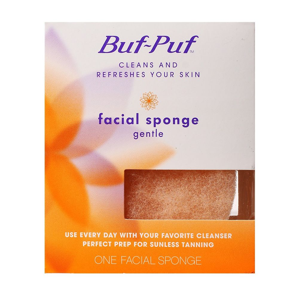 Buf-Puf Facial Sponge Gentle Cleanse Skin Perfect Prep For