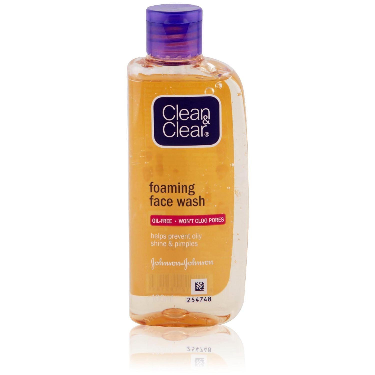 Clean and Clear Foaming Facial Wash 150ml designed for ...