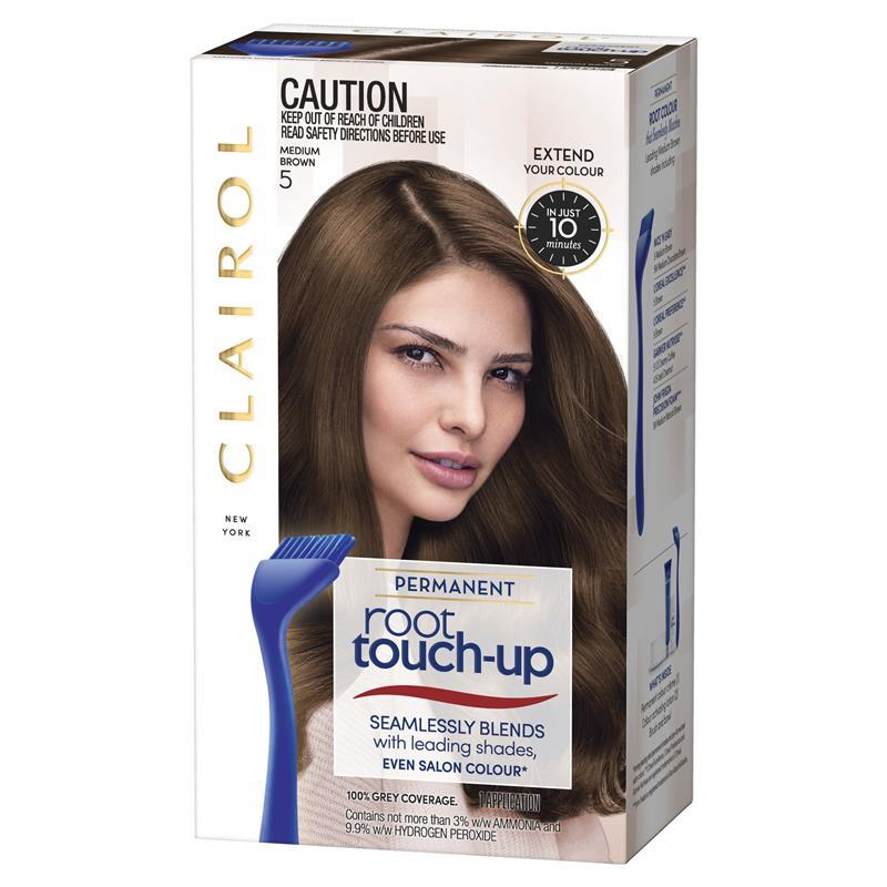 Clairol N Easy Root Touch Up 5 Med Brown Even Salon Shades In Just