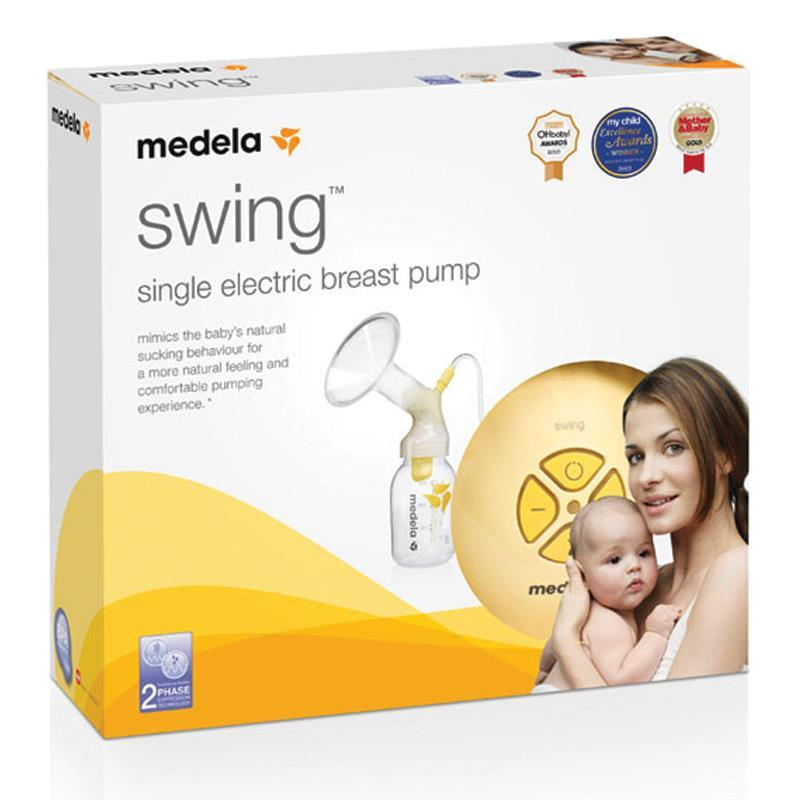 Medela Swing Breastpump 2 Phase Expression Technology Comfortable