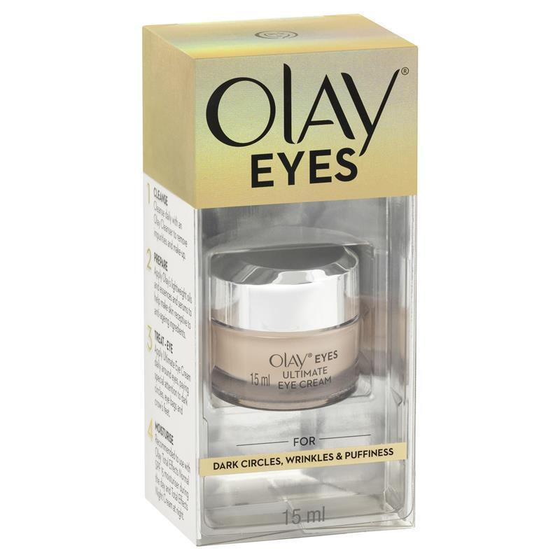 Olay Eyes Ultimate Eye Cream 15ml Reduce Dark Circles Wrinkles And