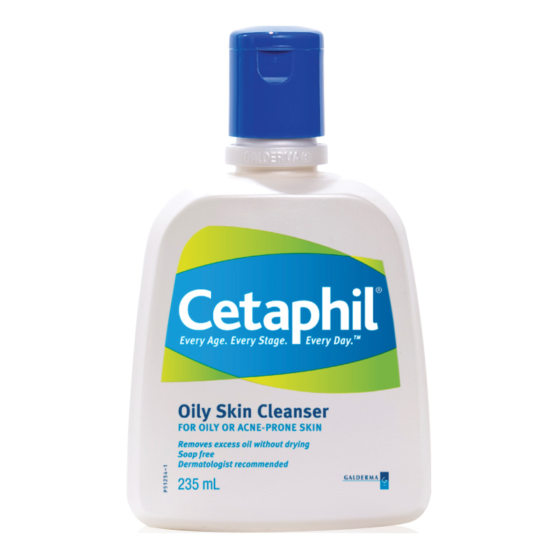Cetaphil Oily Skin Cleanser 235ml For Oily Combination Blemished Skin Soap Free Ebay