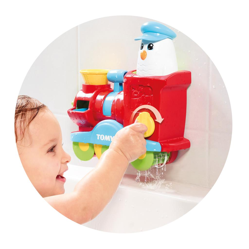 Tomy Bath Toys Bubble Blast Train with Toomies and the Bubble Blast ...