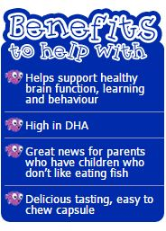 Nature 39 s way kids smart omega 3 fish oil trio 180 chewable for Purpose of fish oil