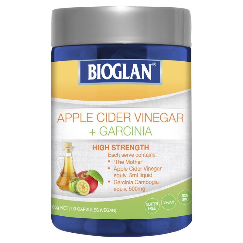 Bioglan Superfood Apple Cider Vinegar + Garcinia 90 Caps High Strength Vegan