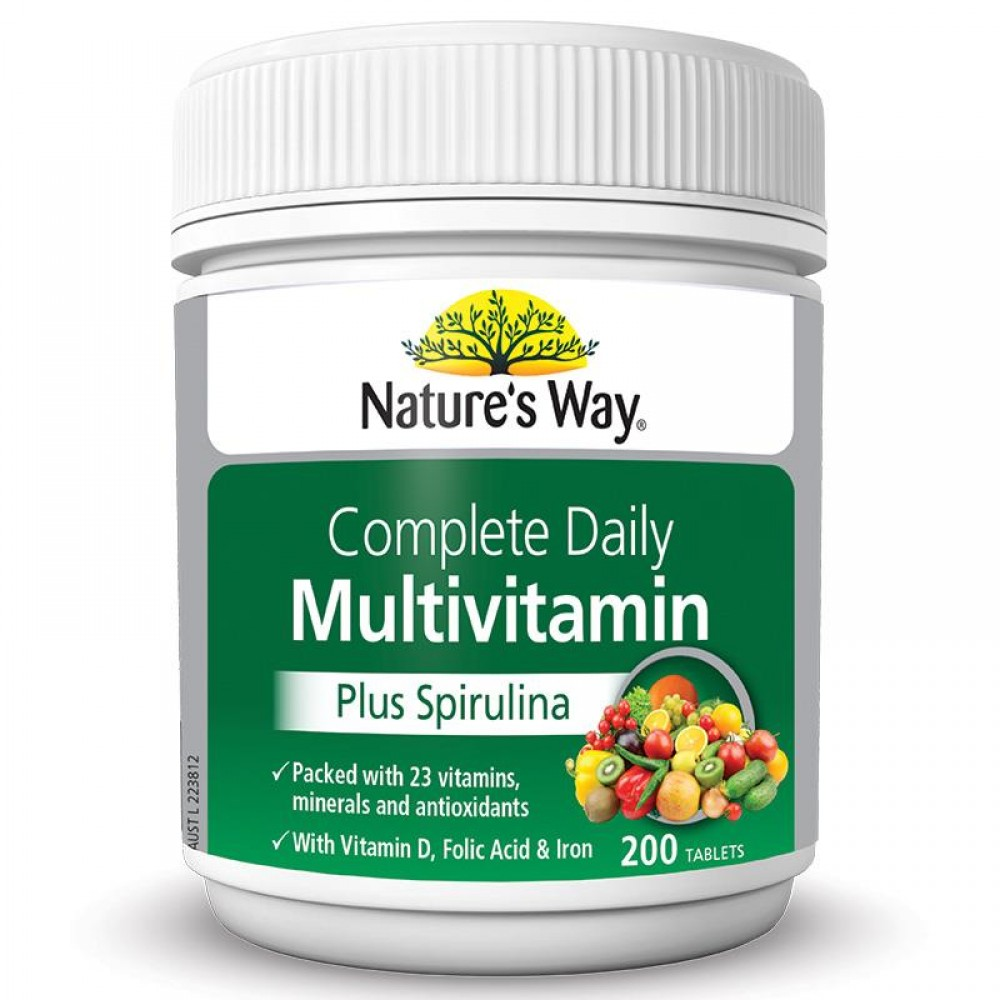 Nature S Way Multivitamin